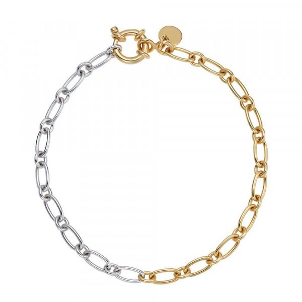 Damen Armband aus Silber 925, teilvergoldet (2030016)