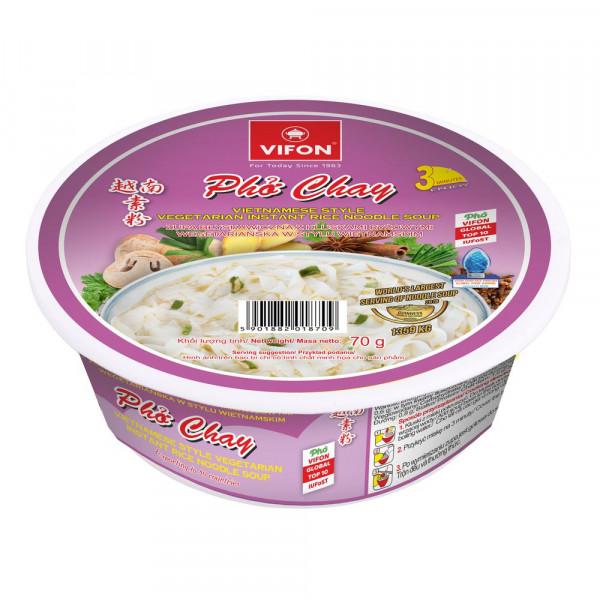 Pho Chay Instant Reisnudelsuppe, vegetarisch