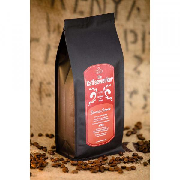 """Kaffee-Bohnen """"Donna Crema"""""""