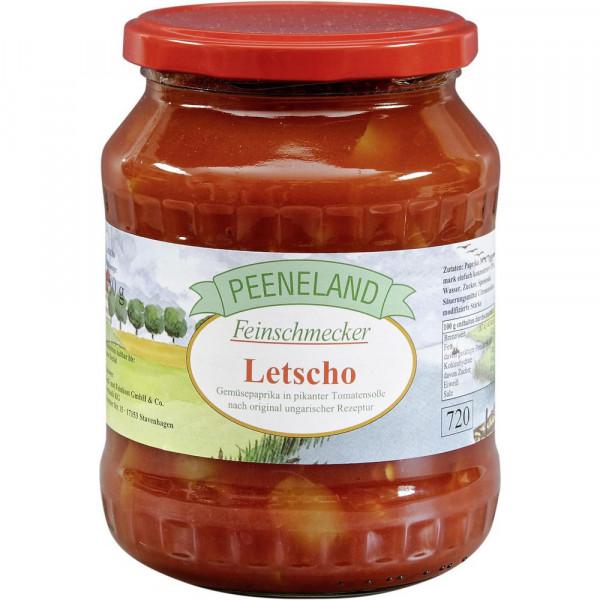 Letscho, Gemüsepaprika in pikanter Tomatensauce
