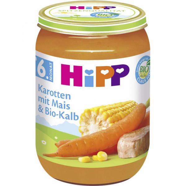 Babynahrung Menü, Karotte/Mais/Bio-Kalb