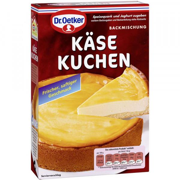 Backmischung, Käse-Kuchen