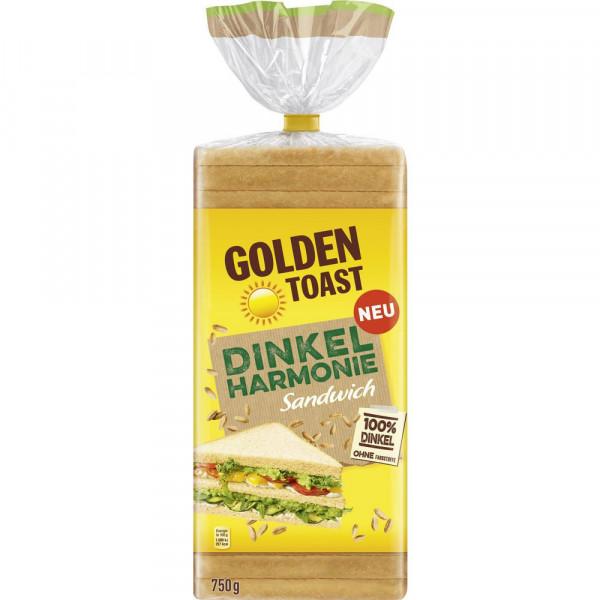 Dinkelharmonie Sandwich- Toastbrot