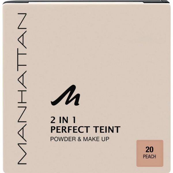 Puder Perfect Teint, 2 in 1 Powder & Make Up, Peach 20