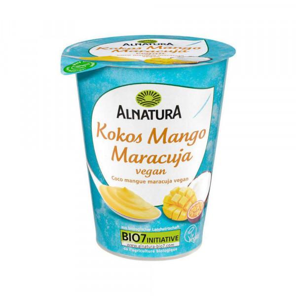 Pflanzliche Joghurtalternative, Kokos-Mango-Maracuja