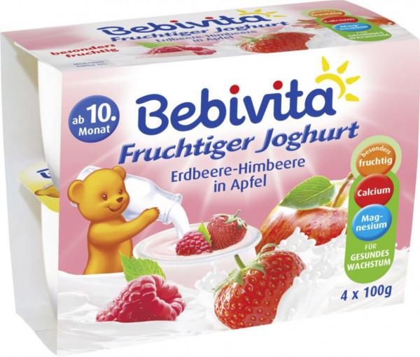 Baby Joghurt, Erdbeere/Himbeere/Apfel