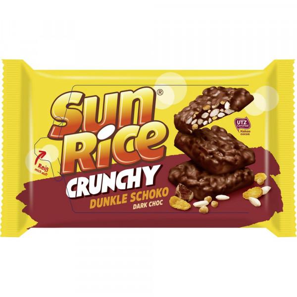 Puffreis Crunchy, dunkle Schokolade