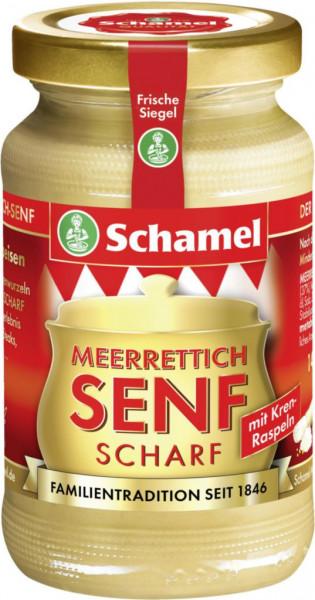 Merrettich-Senf, scharf