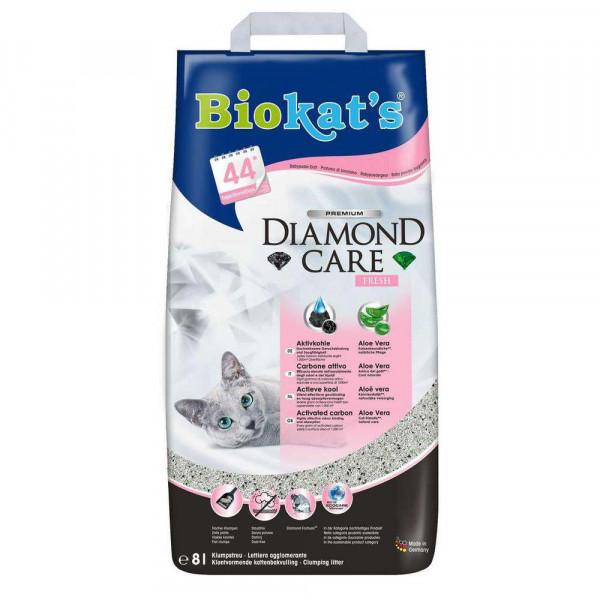 "Katzenstreu ""Diamond Care, fresh"""