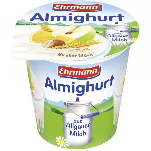 Fruchtjoghurt, Bircher Müsli