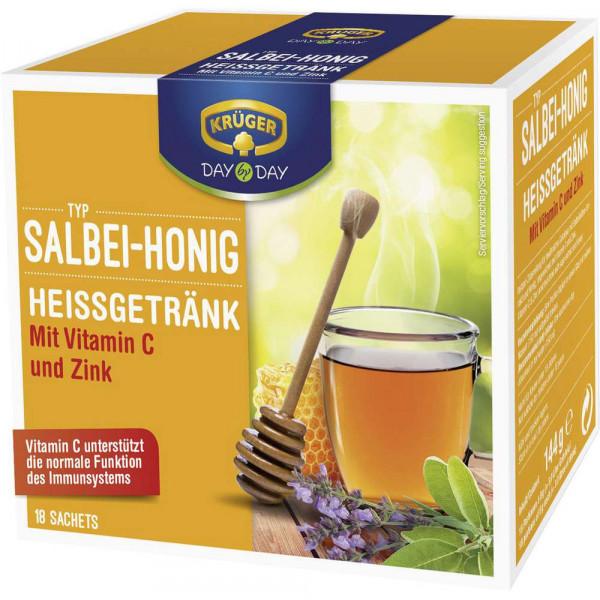 Heißgetränk, Salbei-Honig