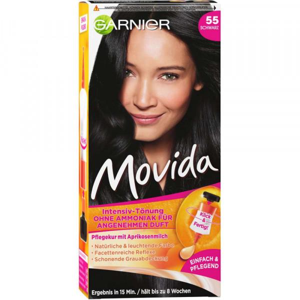 """Haarfarbe """"Movida"""", 55 Schwarz"""