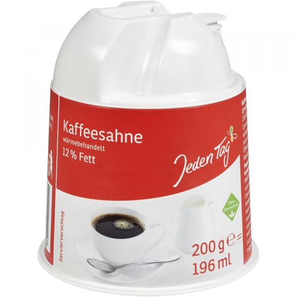 Kaffeesahne-Kännchen, 12% Fett