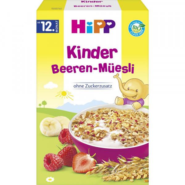 Kinder Bio Müsli, Beeren