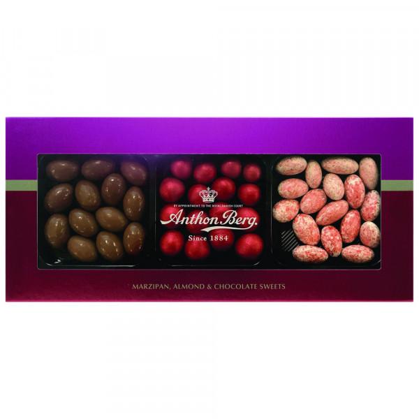Marzipan, Mandeln, Schokolade
