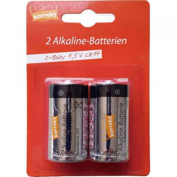 Baby Batterien LR14 C, Alkaline