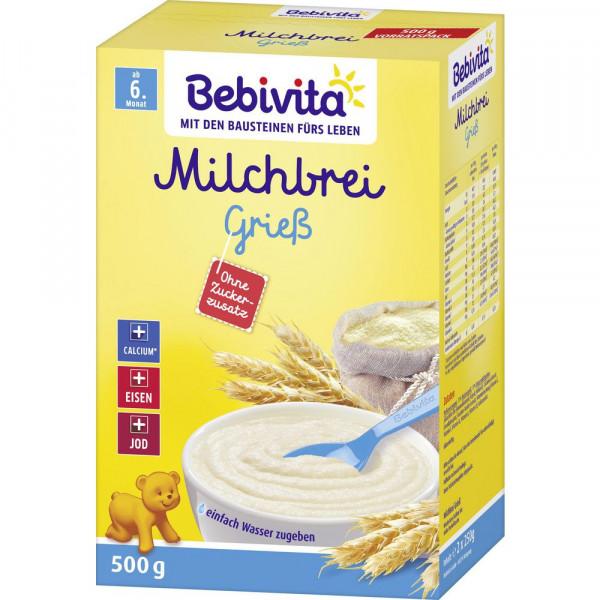 Milchbrei Grieß