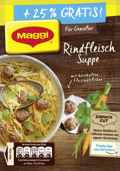 Genießer Suppe, Rindfleisch