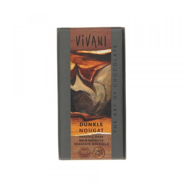 Bio Dunkel Nougat Zartbitter-Schokolade