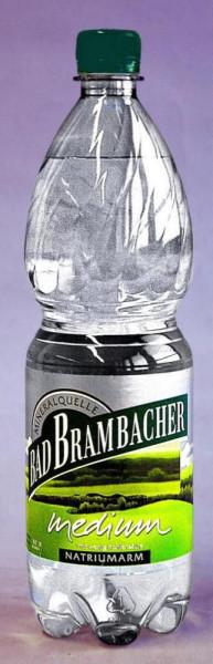 Mineralwasser, Spritzig (9 x 1 Liter)