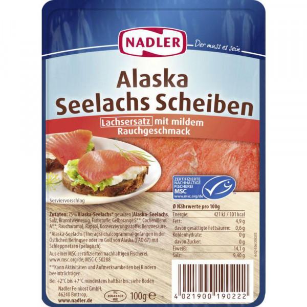 Seelachs Scheiben
