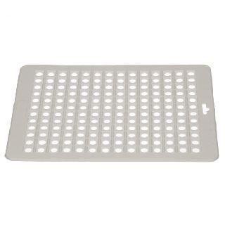 Spülbeckenmatte eckig 31,5 x 26,5 cm, weiß