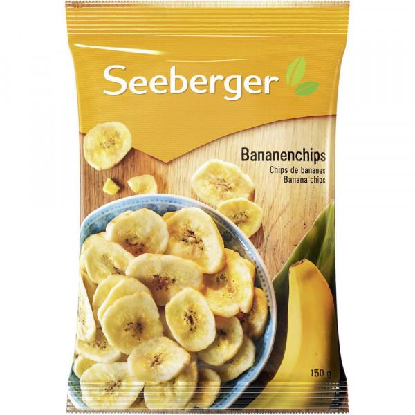 Bananenchips, gesüßt & getrocknet