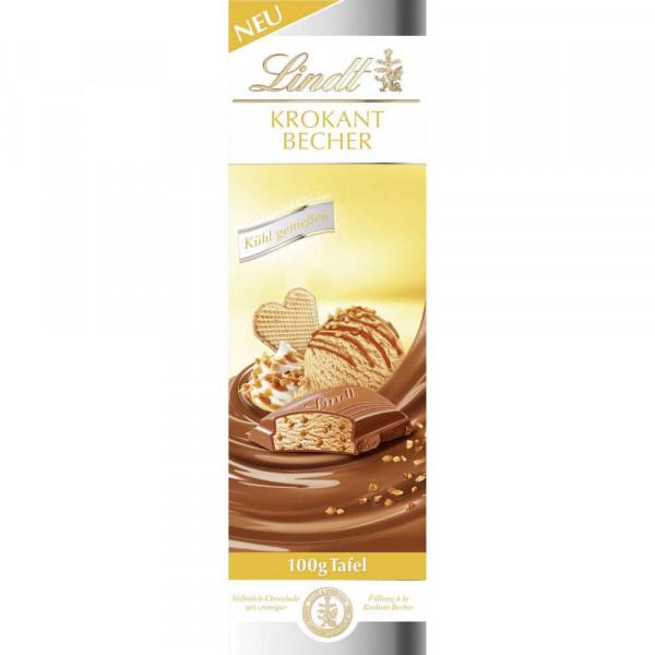 Tafelschokolade Krokant Becher Eis