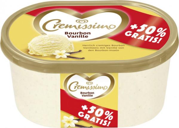 "Vanille Eiscreme ""Cremissimo"" +50%"