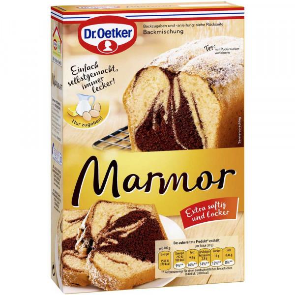 "Backmischung ""Marmor"""