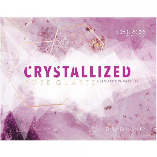 Lidschatten Palette Crystalized Rose Quartz, 010