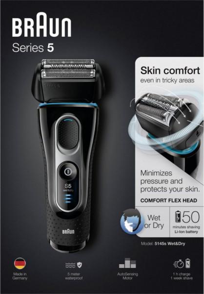 Elektrischer Rasierer Series 5 - 5145s wet&dry