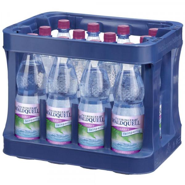 Mineralwasser, Sanft (12 x 1 Liter)