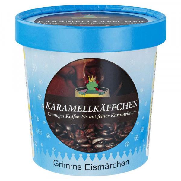 """Kaffee-Eiscreme mit Karamellnote """"Karamellkäffchen"""""""