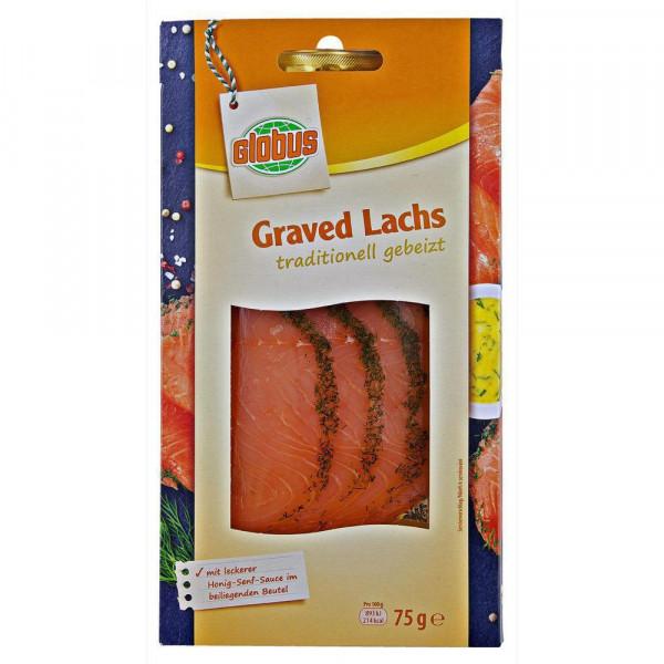 Graved Lachs mit Honig-Senf Sauce