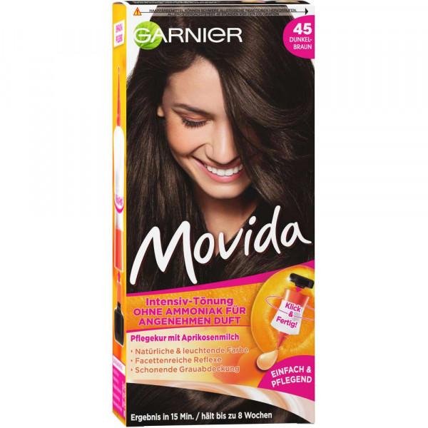 "Haarfarbe ""Movida"", 45 Dunkelbraun"