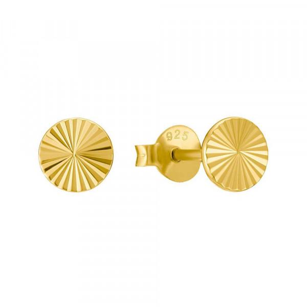 Ohrstecker aus Silber 925, vergoldet (4056866091177)