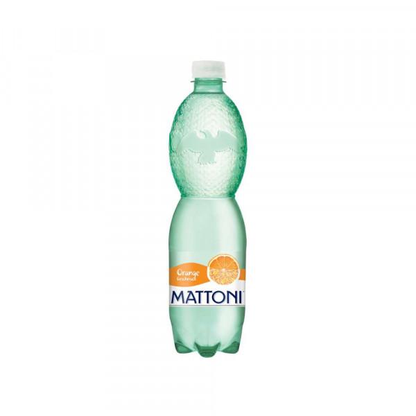 Orangen Mineralwasser