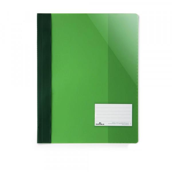 Sichthefter, A4, extra stark, grün