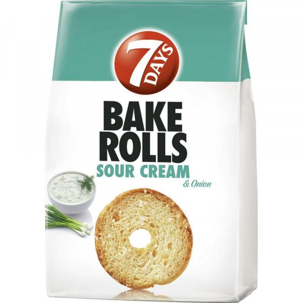 "Brotchips ""Bake Rolls"", Sour Cream & Onion"