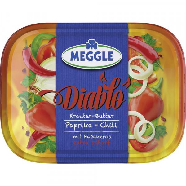 "Kräuterbutter ""Diablo"", Paprika & Chili mit Habaneros"
