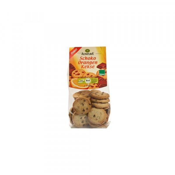 Bio Dinkel-Kekse, Schoko-Orange