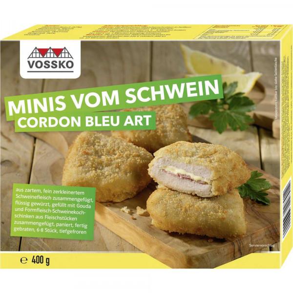 """Minis vom Schwein """"Cordon Bleu Art"""", tiefgekühlt"""