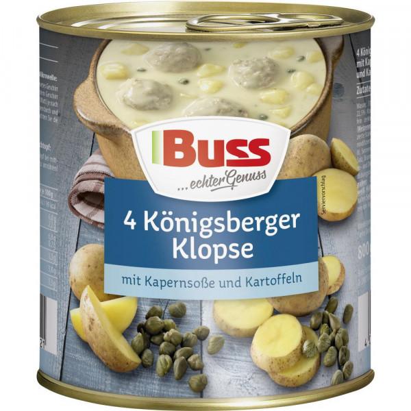Königsberger Klopse mit Kapernsoße & Kartoffeln
