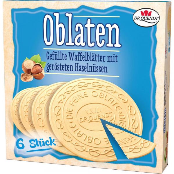 Dresdner Oblatten, Haselnuss
