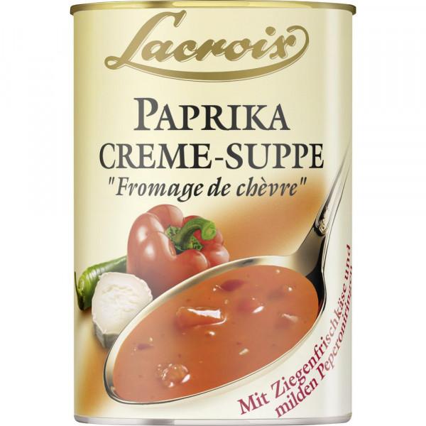 """Paprika-Creme-Suppe """"Fromage de chèvre"""""""