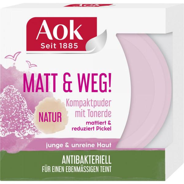 Matt & Weg! Kompaktpuder, Natur
