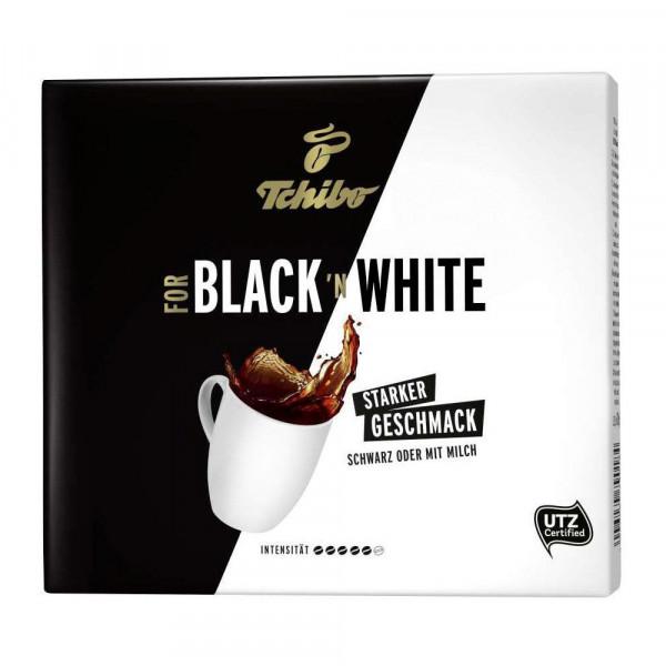 """Kaffee """"For Black'nWhite"""" vollmundig, gemahlen"""