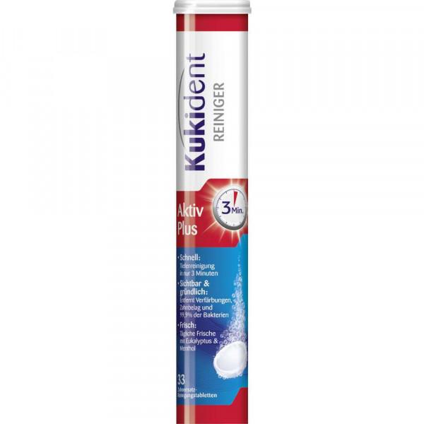 Aktiv Plus Zahnersatz-Reinigungstabletten