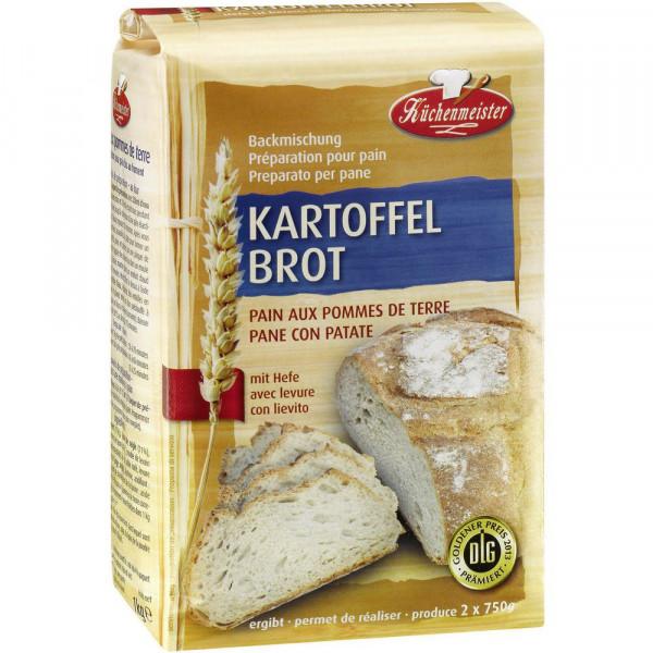 Brotbackmischung, Kartoffelbrot